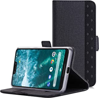 ProCase Flip Case for Google Pixel 3 XL, Folio Folding Wallet Protective Cover for Google Pixel 3XL (2018 Release), with Card Holders Cash Clip and Kickstand -Black