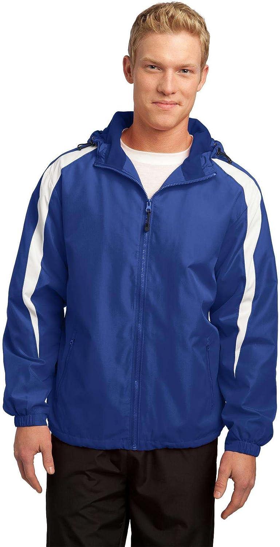 SPORT-TEK Fleece-Lined Colorblock Jacket F20