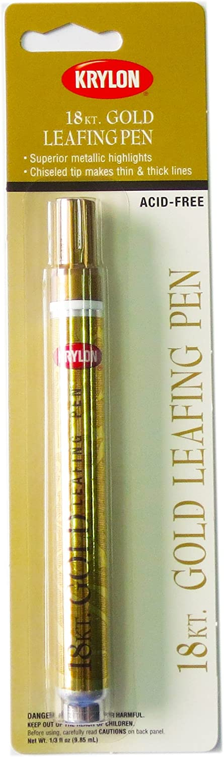 Krylon K09901A00 Leafing New life Credence Pen Ounce Gold .33