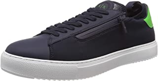 A|X Armani Exchange Men's Low Top Sneaker with Sock Attached