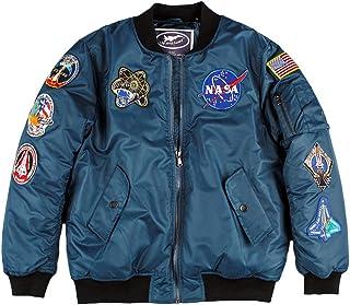 Up and Away NASA Space Shuttle Flight Bomber Jacket