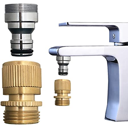 bathroom sink faucet snap adapter quick connect to garden hose kitchen faucet aratored quick snap connector to 3 4 inch ght female for washer indoor