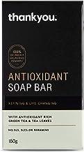 Thankyou Antioxidant Soap Bar with Green Tea & Tea Leaves, 150g