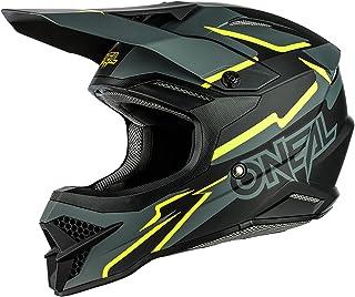 """O""""NEAL   Motocross-Helm   MX Enduro   ABS-Schale, Sicherheitsnorm ECE 22.05, Lüftungsöffnungen für optimale Belüftung & Kühlung   3SRS Helmet Voltage   Erwachsene"""