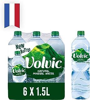 Volvic Natural Mineral Water, 6 x 1.5l