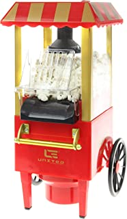 United Divertissement Popcorn Maker, en Plastique, Rouge