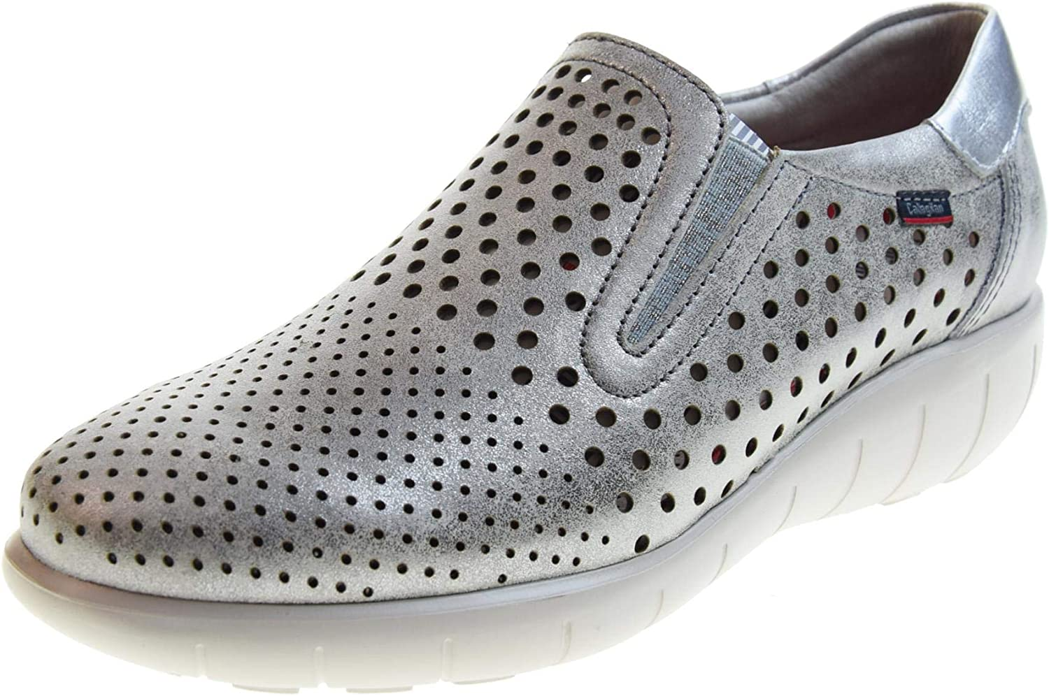 CALLAGHAN women's shoes sneakers without laces 11603 SILVER