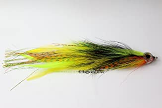 Jointed Muskie / Pike Fly - Firetiger Perch -5/0 7