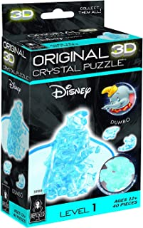 Bepuzzled Dumbo Original 3D Disney Crystal Puzzle 40 Pieces