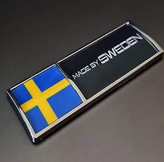 FORTILLO Volvo/Saab/Scania – Made by Sweden Aufkleber Emblem | Limited