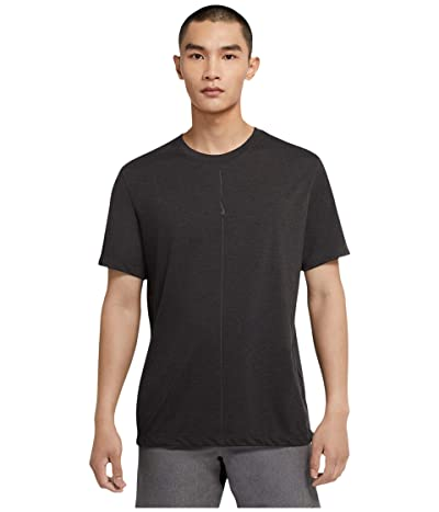 Nike Dry Tee DB Yoga (Black/Iron Grey) Men
