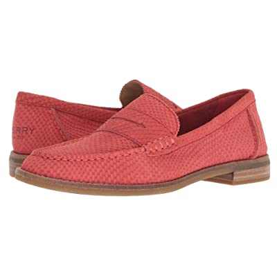 Sperry Seaport Penny Snake (Red) Women