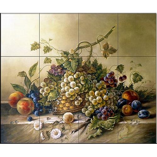Tile Murals For Kitchen Backsplash Amazon Com