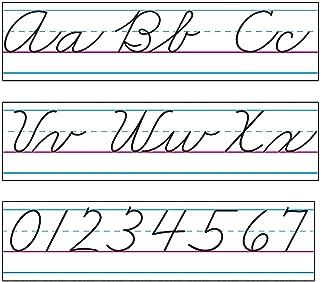 Fun Express - ZaneR-Bloser Cursive Alphabet Bb Set - Educational - Classroom Decorations - Bulletin Board Decor - 13 Pieces