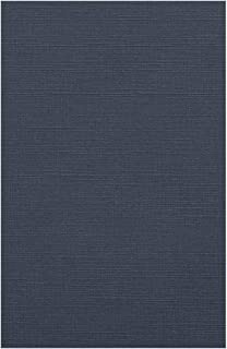 $44 » 11 x 17 Cardstock - Nautical Blue Linen (50 Qty.) | Perfect for Crafting, Invitations, Scrapbooking, Art Projects, 11x17 P...