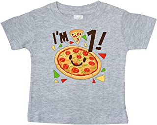 inktastic Im 1 Pizza Birthday Party Baby T-Shirt