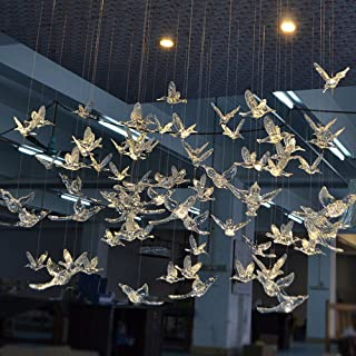 Laugh Cat Creative DIY Flying Bird Decorative Ceiling Hanging Ornaments Christmas Tree for Home Kindergarten Shopping Mall...