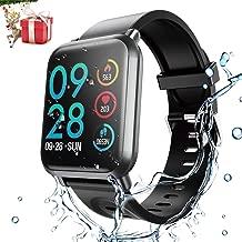 HopoFit Fitness Tracker HR,Smartwatch con Contador de Calorías,Podómetro, HF02 Rastreador de Actividad de Camuflaje con Monitor de Ritmo cardíaco y sueño,IP68 W/P,Hombres,Mujeres,iOS y Android