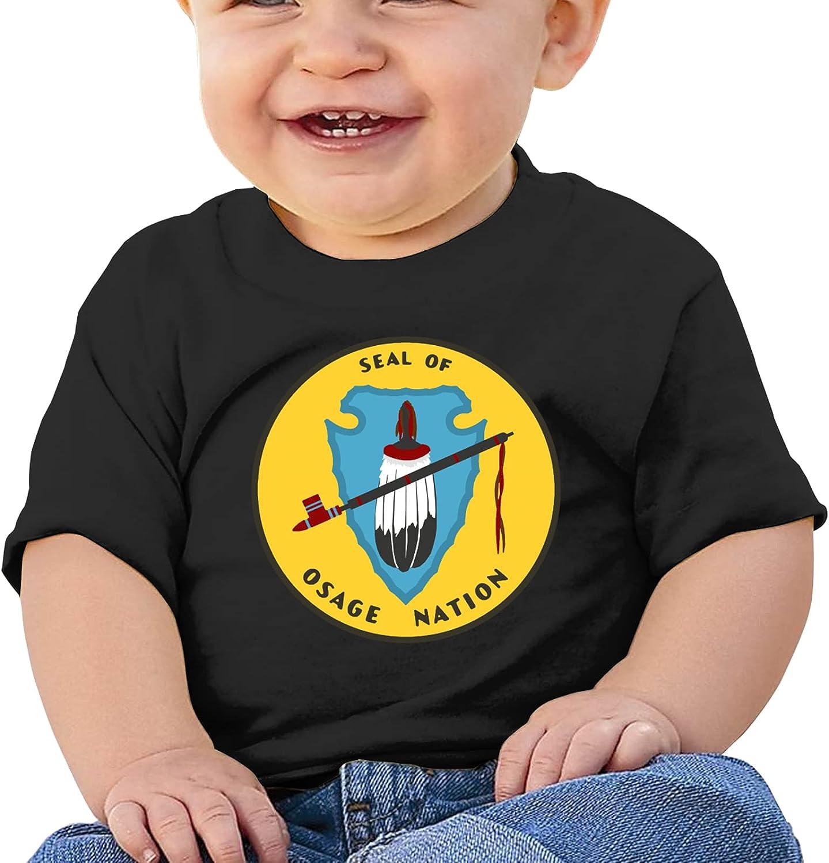 MSEBIM Osage Nation Girls Boysbaby'S Cotton T-Shirt T Shirts