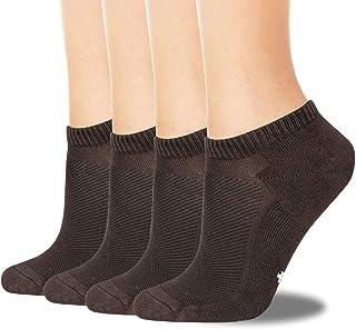 4 pares de calcetines de bambú de primera calidad para hombre, de absorción de humedad súper suave y calcetines antibacterianos