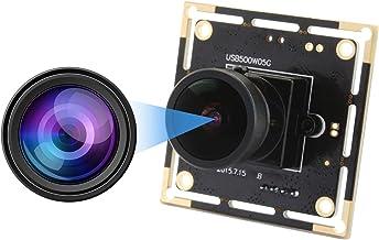 5 MP 170 Degree Fisheye Lens USB Webcam Mini Camera Module High Definition 2592X1944 Webcam Aptina MI5100 USB with Camera,...