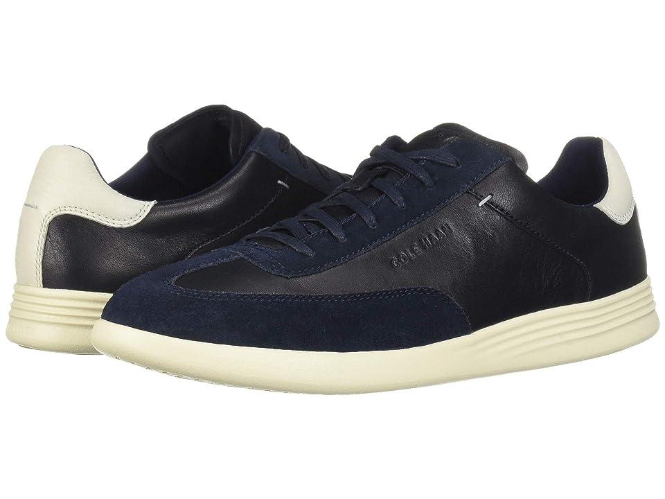 Cole Haan Grand Crosscourt Turf Sneaker (Navy Ink Leather/Suede) Men