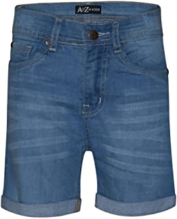 Kids Girls Shorts Bermuda Light Blue Jeans Hot Pant Summer Denim Short 5-13 Year