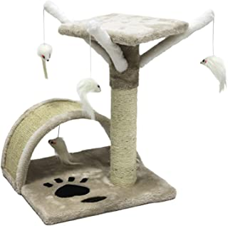 CUPETS Pet Products Cat Tree House with Scratching Post for Kittens and Cat,Activity Tree - coolthings.us