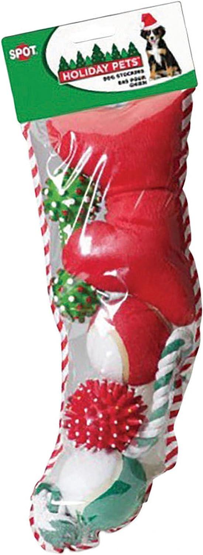 Holiday Dog Stocking  Size  Medium by ETHICAL CHRISTMAS