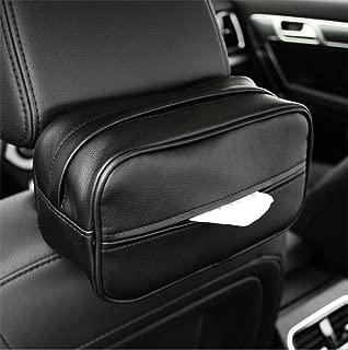 SHAKAR Car Console Armrest Paper Box,Sun Visor Napkin Holder, Car Tissue Holder,Backseat Tissue Case Holder Cars