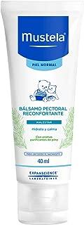 Mustela Bálsamo Pectoral Reconfortante para Piel Normal, 40 ml