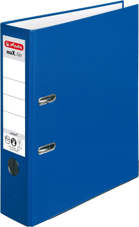 Herlitz 5480306Nbsp;Lever Arch A4Nbsp;8Nbsp;cm File Al sold Jacksonville Mall out. Blue