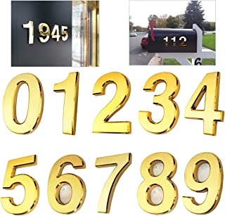 Best large gold house numbers Reviews