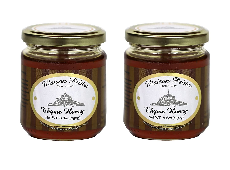 Maison 5 ☆ very popular Peltier - Pure Raw Thyme per Translated 100% 8.8oz jar Unpa Honey
