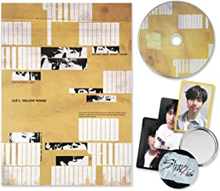 STRAY KIDS Special Album - CLE 2 : YELLOW WOOD [ Clé 2 ver. ] CD + Photobook + 3 QR Photocards + FREE GIFT