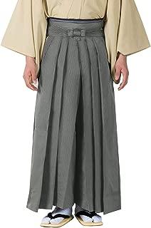 Men's Japanese Striped Hakama Pants Sendaihira Style