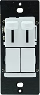 Legrand - Pass & Seymour Single Pole or 3 Way LED Dimmer and Fan Speed Control Switch, LSCLDC163PWCCV4 LS TradeMaster174; White