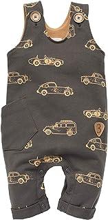 FLIKEFASHION-PINOKIO Old Cars Baby Jungen Strampler/Dungarees/Latzhose, Baumwolle, Hergestellt