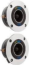 "1"" Car Audio Speaker Tweeter - 300 Watt High Power Super Titanium Tweeter System w/ 3.75 Inch Aluminum Bullet Horn, 2kHz-2... photo"