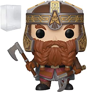 Funko Pop! Movies: The Lord of The Rings - Gimli Vinyl Figure (Includes Pop Box Protector Case)