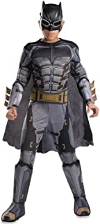 Rubie's Costume Boys Justice League Deluxe Tactical Batman Costume, Large, Multicolor