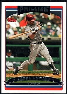 Baseball MLB 2006 Topps #182 Aaron Rowand Phillies