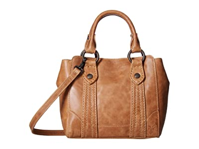Frye Melissa Mini Tote Crossbody (Beige) Handbags