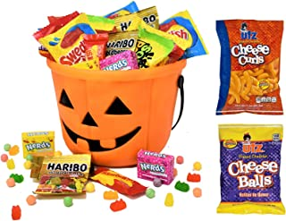 Halloween Care Package Gift Basket -Filled with 1.5 Lbs Halloween Candy Treats - Perfect Candies and Snacks for Kids, Girl...