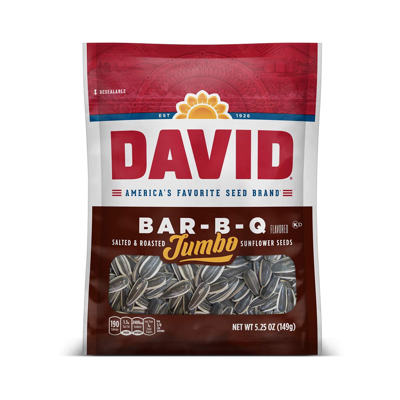 DAVID Roasted Max 61% OFF and Salted Bar-B-Q Sunflower Keto Jumbo Translated Fri Seeds