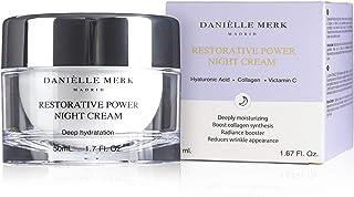 DANIELLE MERK, Restorative Power Night Cream Cream with Retinol Anti-ageing and Anti-wrinkles Treatment Skin and Wrinkle R...
