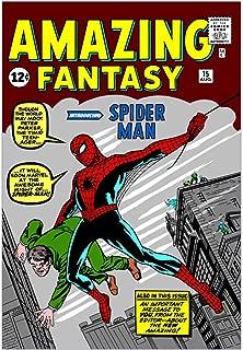 CafePress Amazing Fantasy (Introducing Spider Man) Wall Art Mounted Print