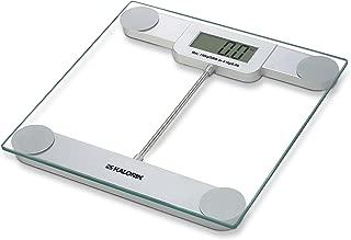 Kalorik EBS 39693 Precision Digital Glass Bathroom Scale Glass & Silver