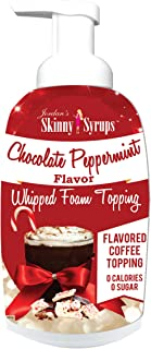 Jordan's Skinny Syrups - Chocolate Peppermint Whipped Foam Topping