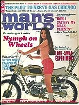 Man's World 8/1970-Atlas-Gil Cohen-Bruce Minney-cheesecake-pulp thrills-G/VG